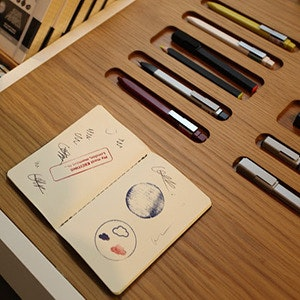 Moleskine Launches in Old Street Station