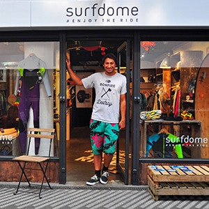 The Surfdome Pop Up Shop