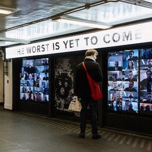 Netflix s'empare du métro Old Street - Black Mirror est de retour...