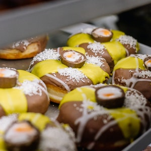 Doughnut Time raises the bar with a Cadbury's Creme Egg collab for Easter