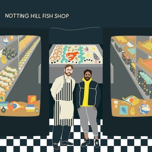 La Dépêche des Commerçants : Notting Hill Fish Shop