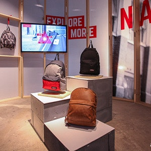 Eastpak launches new retail concept #Madeforlondon