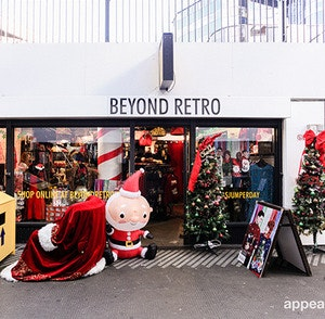 Beyond Retro brings Christmas to Old Street