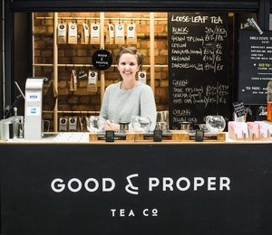 Space for Ideas: Emilie Holmes, Good & Proper Tea